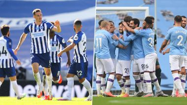 Brighton vs Manchester City, Premier League 2019-20 Free Live Streaming Online & Match Time in IST: How to Watch EPL Match Live Telecast on TV & Football Score Updates in India?