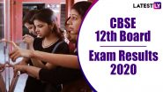 CBSE 12th Result 2020 Declared: Check Class 12 Board Exam Result Online at cbseresults.nic.in