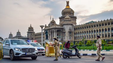 Bengaluru Under Complete Lockdown From July 14 to 22 as COVID-19 Spike Continues