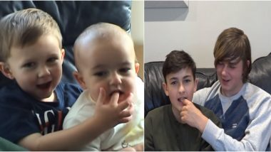 'Charlie Bit My Finger' One of First Viral Videos, Recreated by Brothers After 13 Years! Watch New Clip of Siblings All Grow-Up