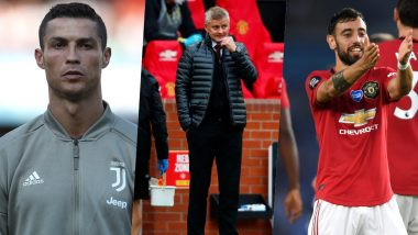Cristiano Ronaldo Approved Bruno Fernandes Signing: Manchester United Boss Ole Gunnar Solskjaer Admits to Contacting Juventus Star Over Portugal Teammate