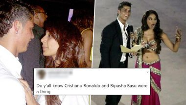 Cristiano Ronaldo and Bipasha Basu's Pictures From 2007 Event Leaves Fans Surprised; Netizens Ask 'Did They Really Had a Thing'