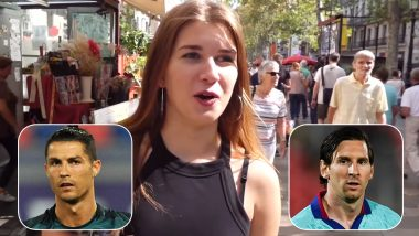 Cristiano Ronaldo or Lionel Messi As Boyfriend? Girls Asked to Pick Date Partners in This YouTube Social Experiment and We Have a Clear Winner! (Watch Video)
