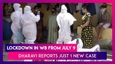 Lockdown In West Bengal's Containment Zones From July 9; Dharavi Reports Just One New Case On July 7