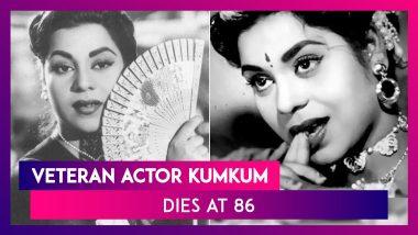 Veteran Actor Kumkum Dies In Mumbai At 86; Lata Mangeshkar, Jaaved Jaaferi & Others Pay Condolences