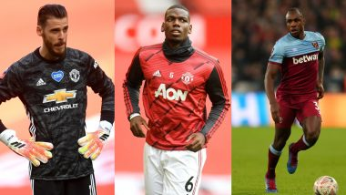 Manchester United vs West Ham, Premier League 2019–20: David de Gea, Paul Pogba, Michail Antonio and Other Players to Watch Out in MUN vs WHU Football Match