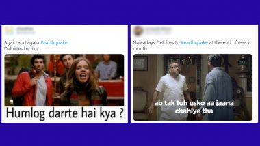 Delhi-NCR Earthquake Sparks Tremors of Funny Memes Online, Netizens Lift Spirits in Tough Times With Hilarious Jokes