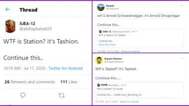 Desi Twitter is Sharing How Indians Pronounce Some Common English Words in New Trend and It is So Apt! (Check Funny Tweets)