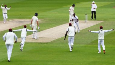 England vs West Indies 3rd Test 2020, Day 1 Report: Ollie Pope, Jos Buttler Counter Help Hosts Take Control in Manchester