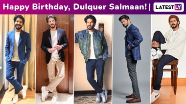 Dulquer Salmaan Birthday Special: The Heartthrob Loves Exploring the Dressy Side of Smart Casuals With Simplicity and Sophistication!
