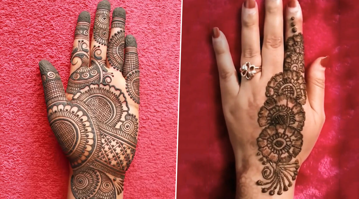 New Raksha Bandhan 2020 Mehendi Designs Easy 5 Minute Mehndi Designs And Henna Patterns To Apply On Your Palms Ahead Of The Festive Season Watch Videos Latestly