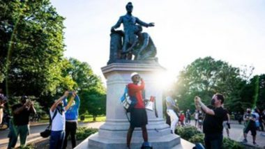 Boston to Remove Statue of Slave Kneeling at Abraham Lincoln's Feet
