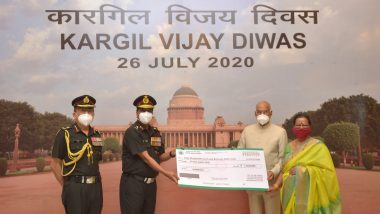 President Ram Nath Kovind Donates Rs 20 Lakh to Army Hospital to Buy Equipment to Combat COVID-19