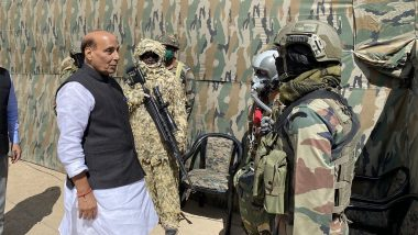Defence Minister Rajnath Singh Reviews Security Situation in Jammu and Kashmir