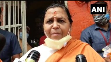 Uma Bharti Not to Attend Ram Temple Bhoomi Pujan Ceremony in Ayodhya Amid COVID-19, Says Will Visit Site After PM Narendra Modi Leaves