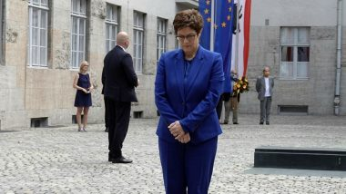 German Defence Minister Annegret Kramp-Karrenbauer Says Withdrawal of Around 12,000 US Troops From the Country Is Regrettable
