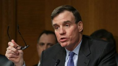 US Will Work with India, Japan and South Korea to Tackle Threat from China, Says Senator Mark Warner