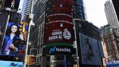 Mohun Bagan Features on NASDAQ Billboards, Goes Truly Global on Its Special Day