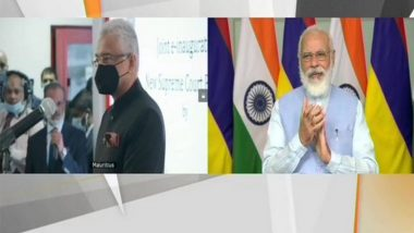 PM Narendra Modi, Mauritian Counterpart Pravind Jugnauth Inaugurate New Supreme Court Building in Port Louis