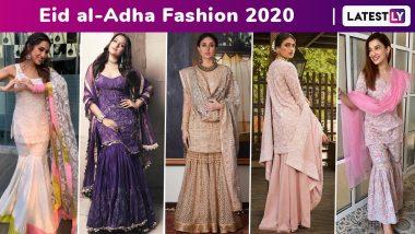Eid Al-Adha 2020: Kareena Kapoor Khan, Sonakshi Sinha, Gauahar Khan, Nushrat Bharucha, Shilpa Shetty, Sana Khan, Sara Ali Khan, Aamna Sharif Whip Up a Sartorial Sharara Storm!