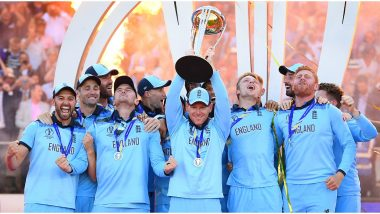 This Day That Year: England Beat New Zealand on Boundary Count to Lift ICC 2019 Cricket World Cup Trophy