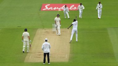England vs West Indies 1st Test 2020 Day 2: Jason Holder Picks Six Wickets, Hosts All Out for 204