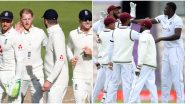 ENG 92/1 in 45 Overs | England vs West Indies Live Score 1st Test 2020 Day 4: England 22 Runs Away From Completing Lead