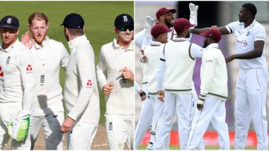 ENG 168/3 in 70 Overs | England vs West Indies Live Score 1st Test 2020 Day 4: ENG Lead by 54 Runs at Tea