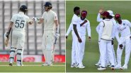WI 54/3 in 21 Overs I England vs West Indies Live Score 1st Test 2020 Day 5: Jermaine Blackwood & Roston Chase Continue to Bat