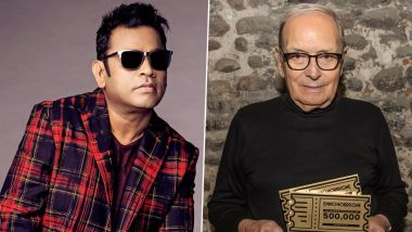 Ennio Morricone No More: A R Rahman Mourns the Loss of the Legendary Italian Composer (View Tweet)