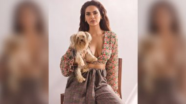 When Esha Gupta Pulled Off Chic Checks With Fabulous Florals In This Throwback Photoshoot!