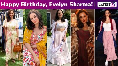 Evelyn Sharma Birthday Special: Repurposing Styles Makes Her Fashion Arsenal a Perfect Extension of Sustainable Living Sensibilities!