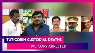Tamil Nadu: Five Cops Arrested By CB-CID For Murder Of Father-Son In Tuticorin Custodial Death Case