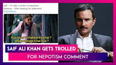 Saif Ali Khan Gets Trolled For Nepotism Comment; Sushant's Co-Star Sanjana Sanghi Leaves Mumbai