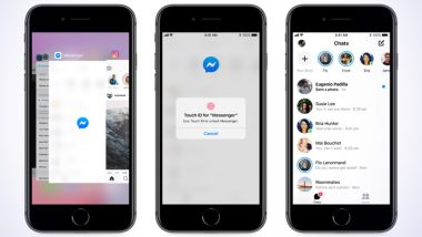 Facebook Messenger Gets App Lock Feature With Support for Face ID & Touch ID