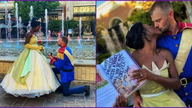 'Princess And The Frog' Fairy Tale-Themed Proposal of a Couple in Idaho is Going Viral
