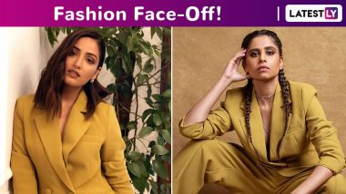 Fashion Face-Off: Yami Gautam or Raashi Khanna in a Mustard Toned Pantsuit! Whose Boss Babe Moment Fared Better?