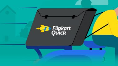 Flipkart Launches 90-Minute Hyperlocal Delivery Service Called 'Flipkart Quick'