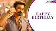 Dhanush Birthday Special: 6 Fun Songs of the Maari Actor That Will Instantly Pump Up Your Mood (Watch Videos)