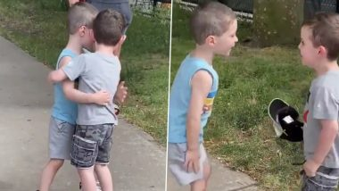 New Video of Toddlers Hugging Each Other Go Viral, Watch Heartwarming Reunion of Two Adorable BFFs in New York After Months of Quarantine!
