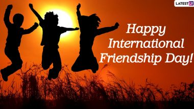 Happy Friendship Day 2020 Wishes For Colleagues: Facebook Greetings, WhatsApp Stickers, GIF Messages, HD Images & SMS to Honour Your Friends at Work Place!