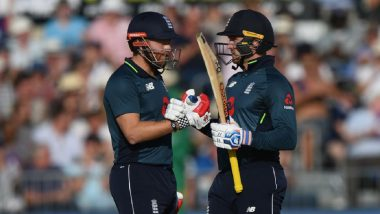 ICC ODI Rankings 2020: England's Jason Roy, Jonny Bairstow Can Work Their Way in Top 10 During Series Against Ireland
