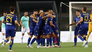 Inter Milan vs Hellas Verona 2–2, Serie A 2020-21 Match Result: Inter Slips to Fourth Place After Draw