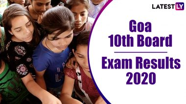 Goa SSC Result 2020 Declared: Check Class 10 GBSHSE Board Exam Results Online at gbshse.gov.in