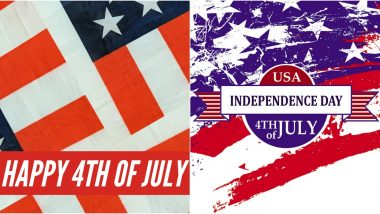 4th of July Images & HD Wallpapers for Free Download Online: Wish Happy US Independence Day 2020 With WhatsApp Stickers and GIF Greetings