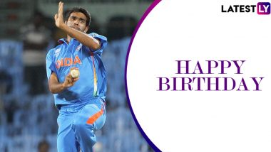Munaf Patel Birthday Special: 4/29 vs South Africa and Other Brilliant Performances by the World Cup-Winning Pacer