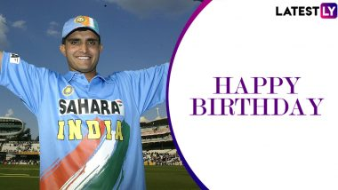 Sourav Ganguly Fans Storm Twitter As BCCI President Celebrates His 48th Birthday