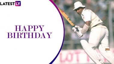 Sunil Gavaskar Birthday Special: 220 vs West Indies and Other Spectacular Performances by The Legendary Indian Opener
