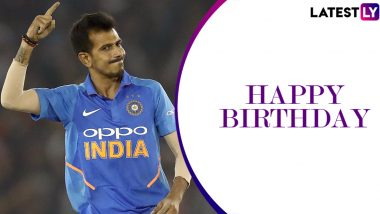 Happy Birthday Yuzvendra Chahal: Fans Storm Twitter with Greetings for the Indian Leg-Spinner As He Turns 30