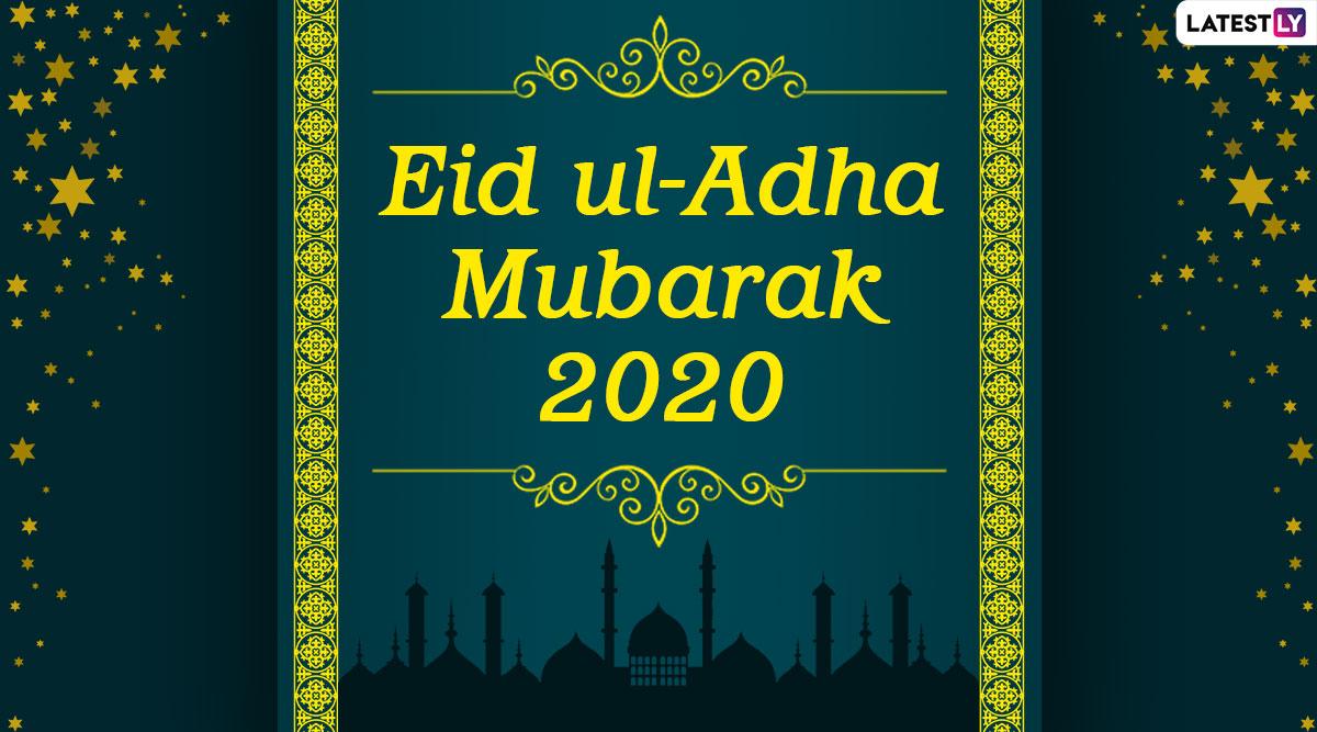 Eid Al-Adha Mubarak 2020 Images & Bakra Eid HD Wallpapers ...